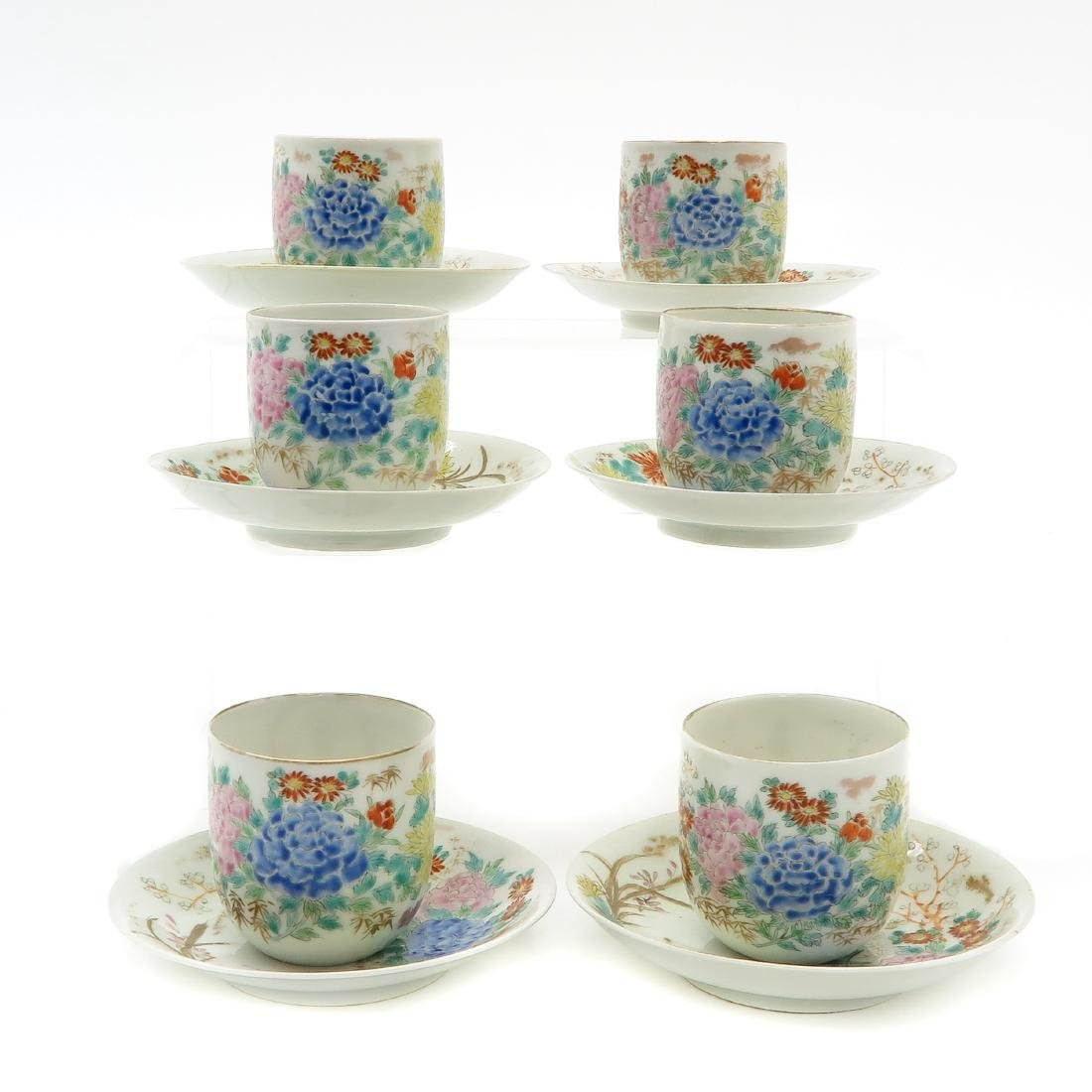 Lot of 6 Cups and Saucers - 3