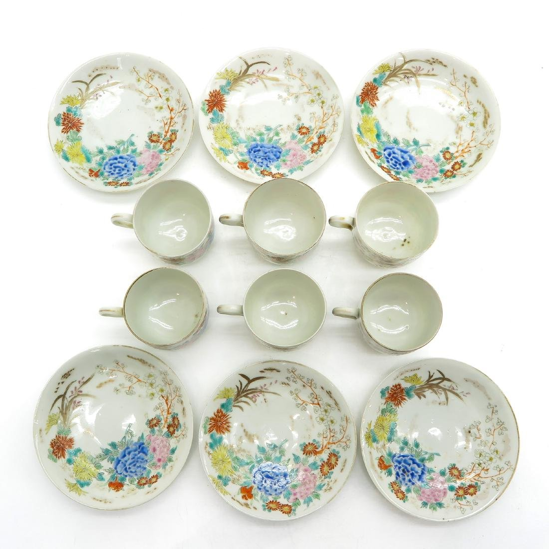 Lot of 6 Cups and Saucers - 4