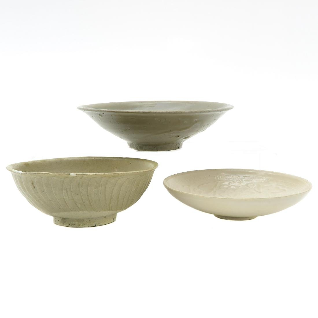 Lot of 3 Small Bowls