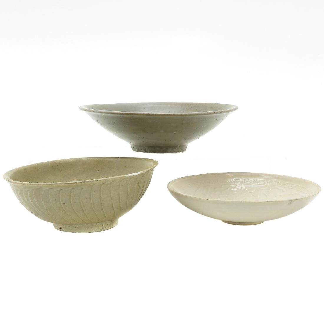 Lot of 3 Small Bowls - 3