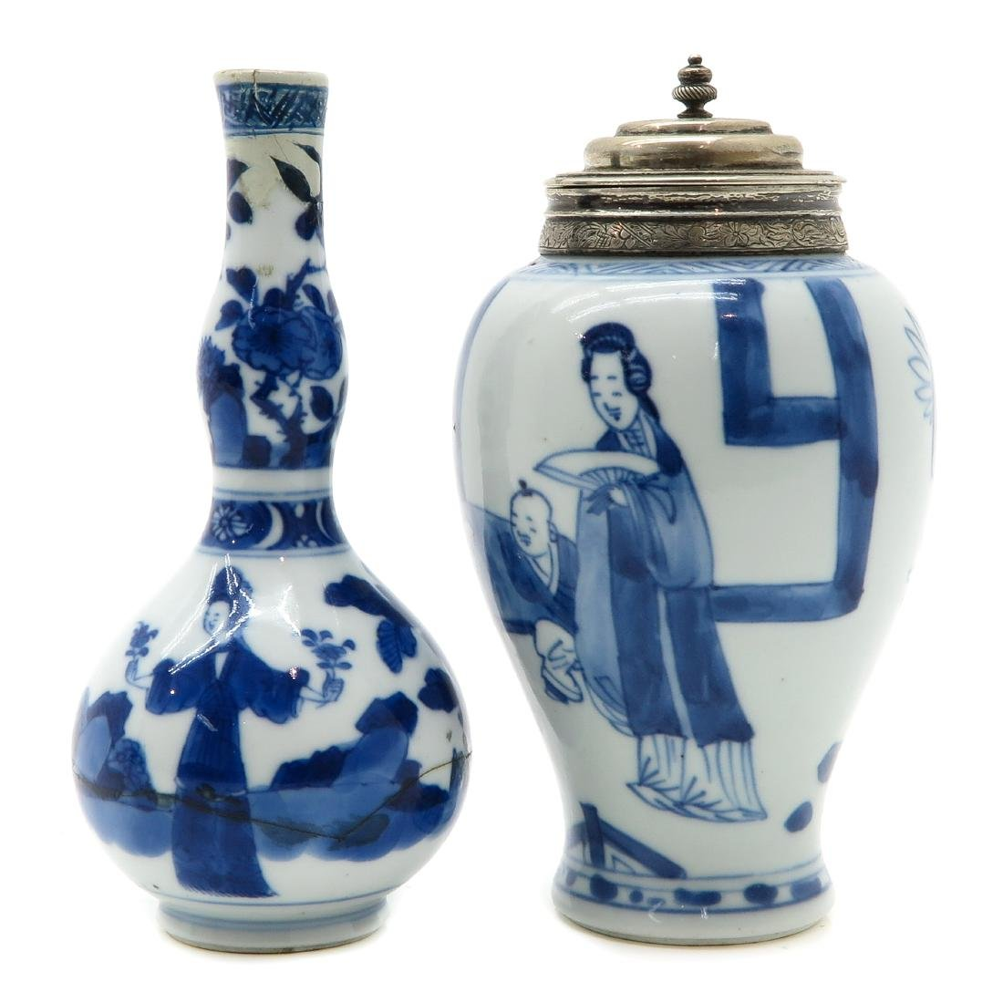 Vase and Tea Box