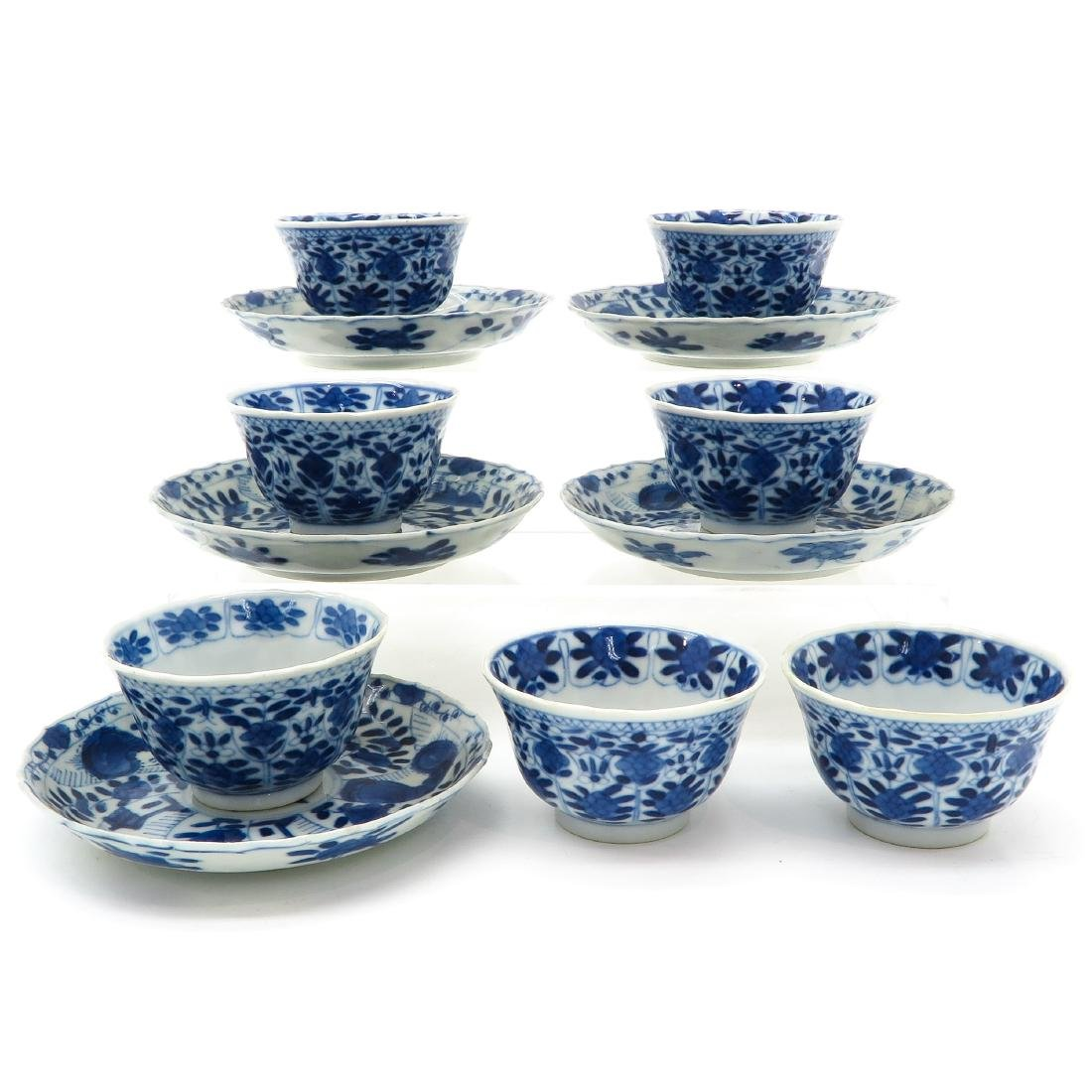 Lot of Cups and Saucers - 2