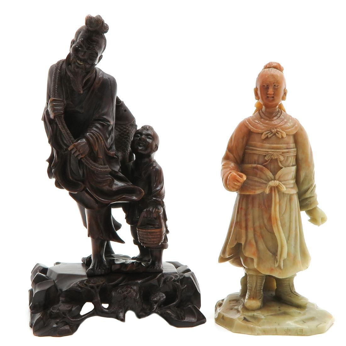 Lot of 2 Sculptures