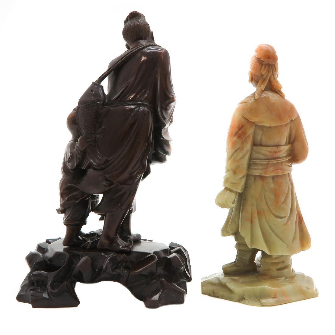 Lot of 2 Sculptures - 2