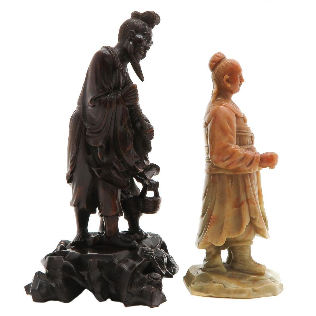 Lot of 2 Sculptures - 3