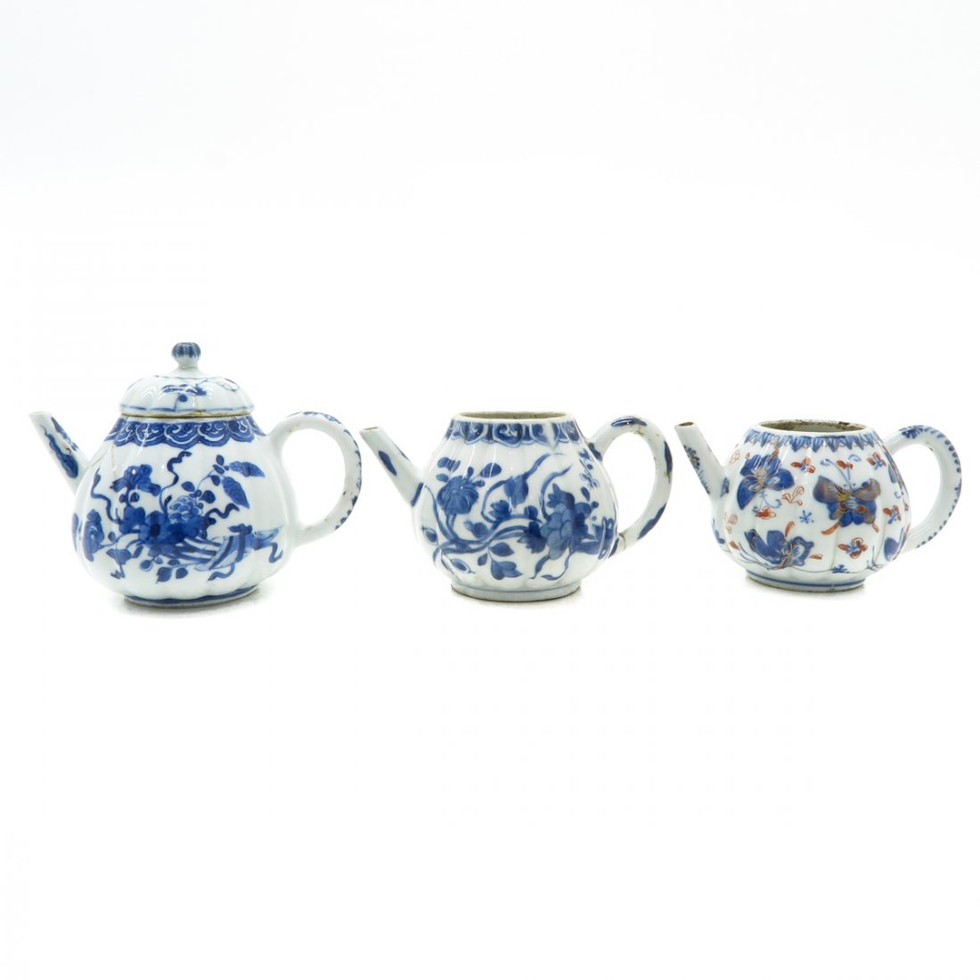 Lot of 3 Teapots