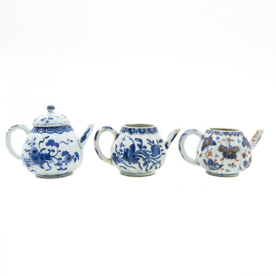Lot of 3 Teapots - 3