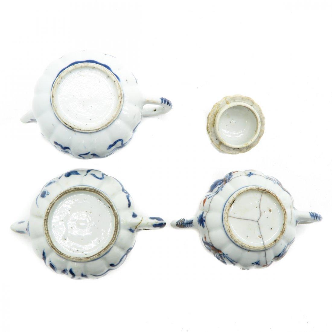 Lot of 3 Teapots - 6