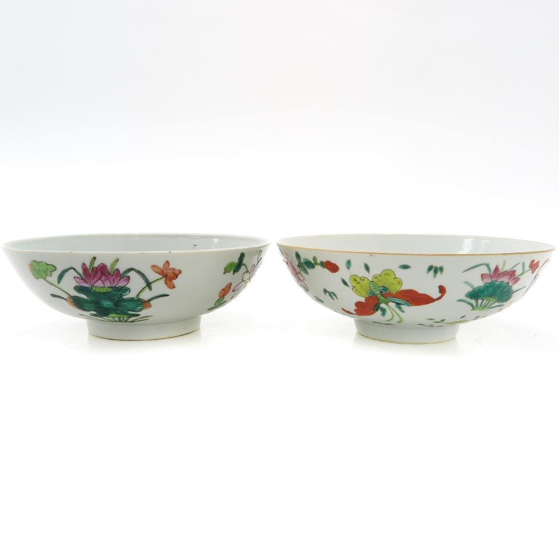 Lot of 2 Bowls - 3