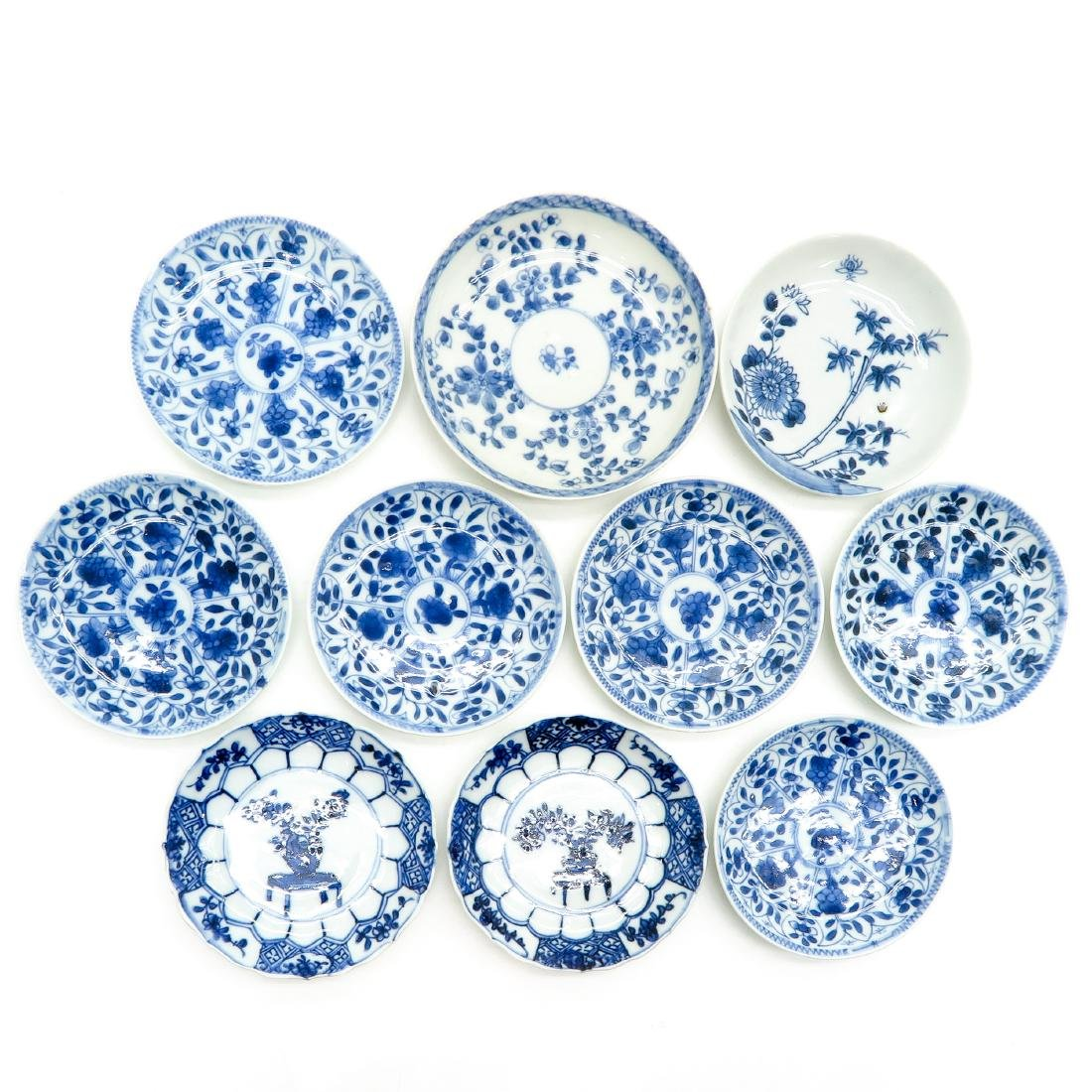 Lot of 10 Small Plates