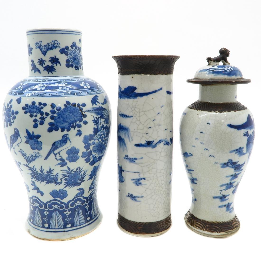 Lot of 3 Vases - 2