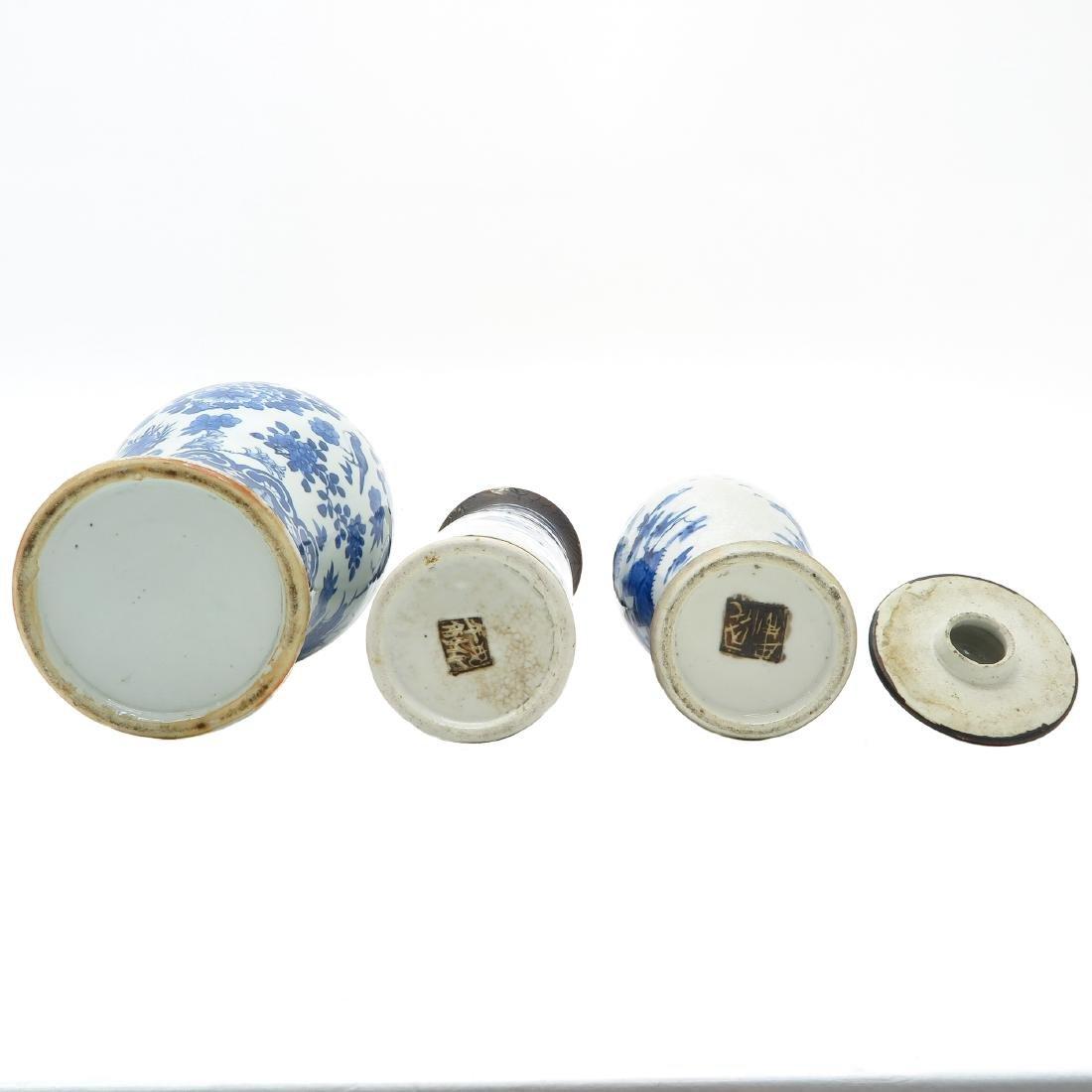 Lot of 3 Vases - 5