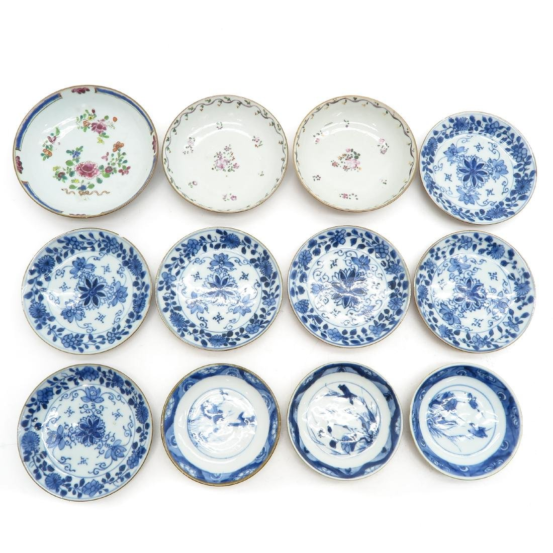 Lot of 12 Small Plates