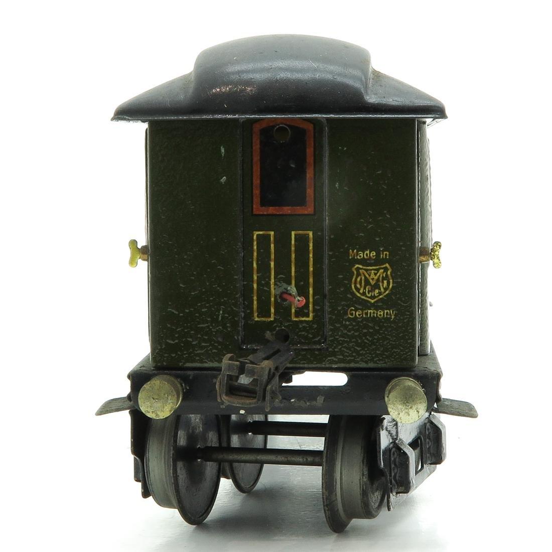 Vintage Marklin Passenger Car - 2