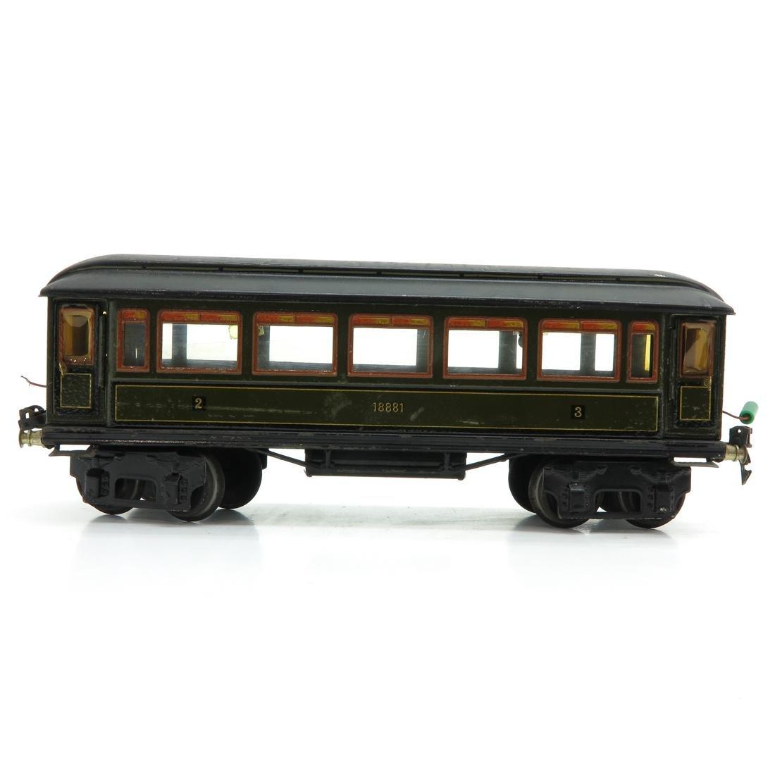 Vintage Marklin Passenger Car - 3