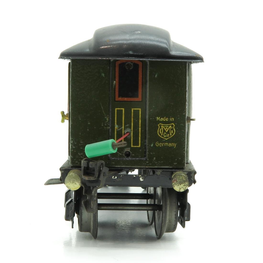 Vintage Marklin Passenger Car - 4
