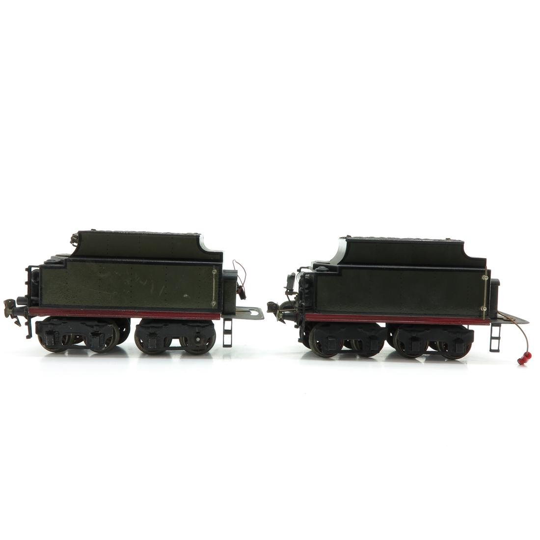 Lot of 2 Vintage Marklin Train Cars