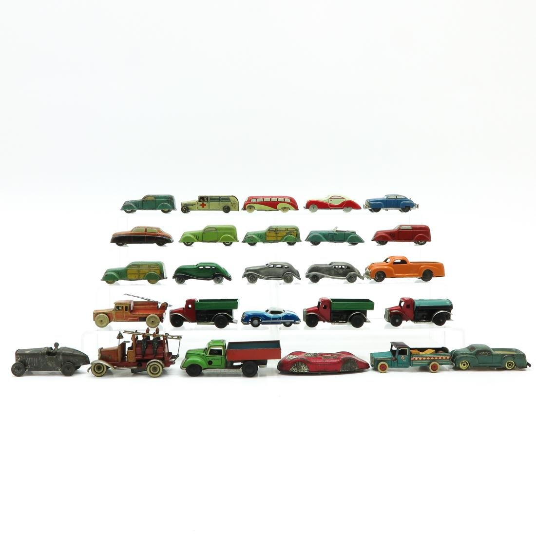 Lot of 26 Vintage Toy Cars