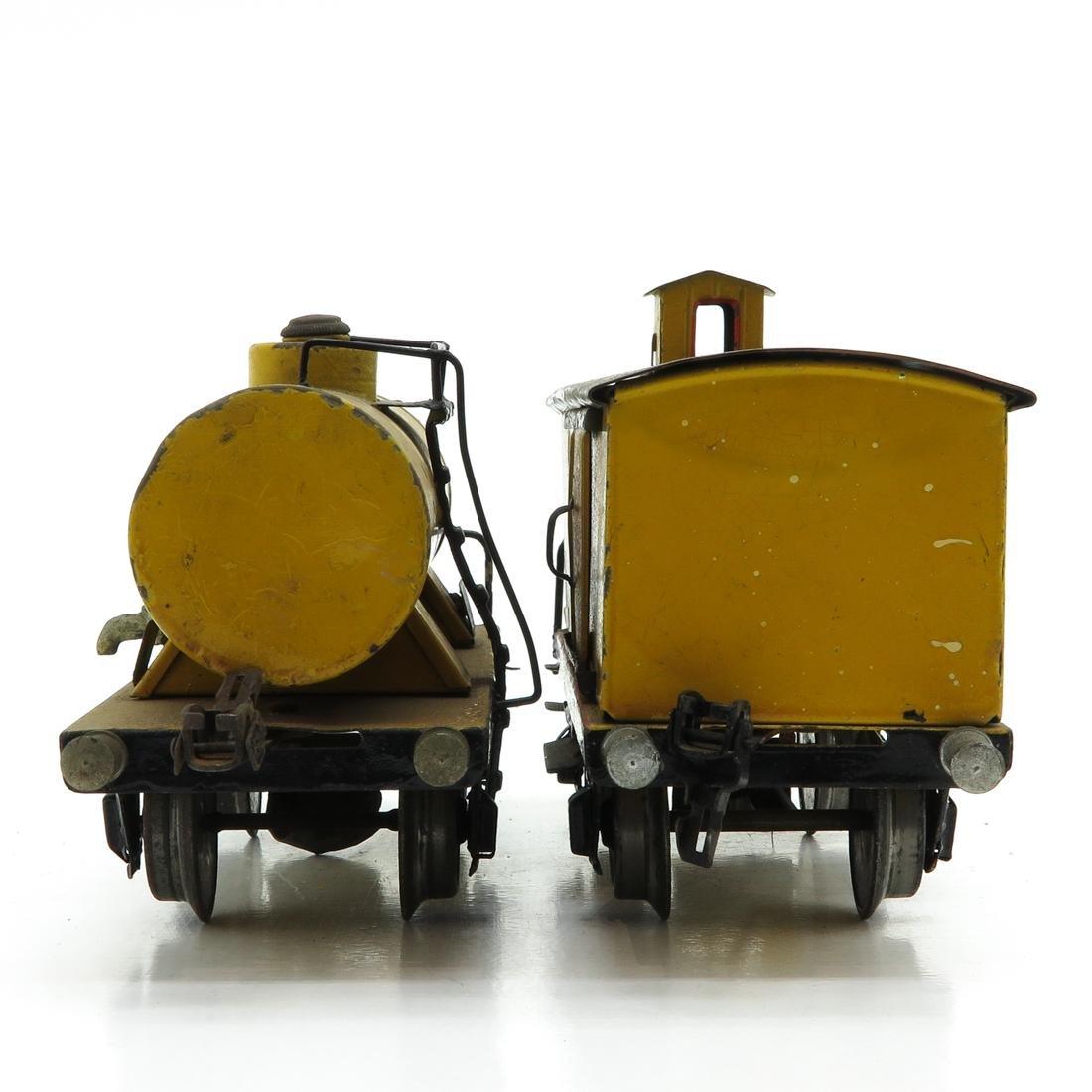 Lot of 2 Marklin Cars Including Shell Tank Wagon - 4