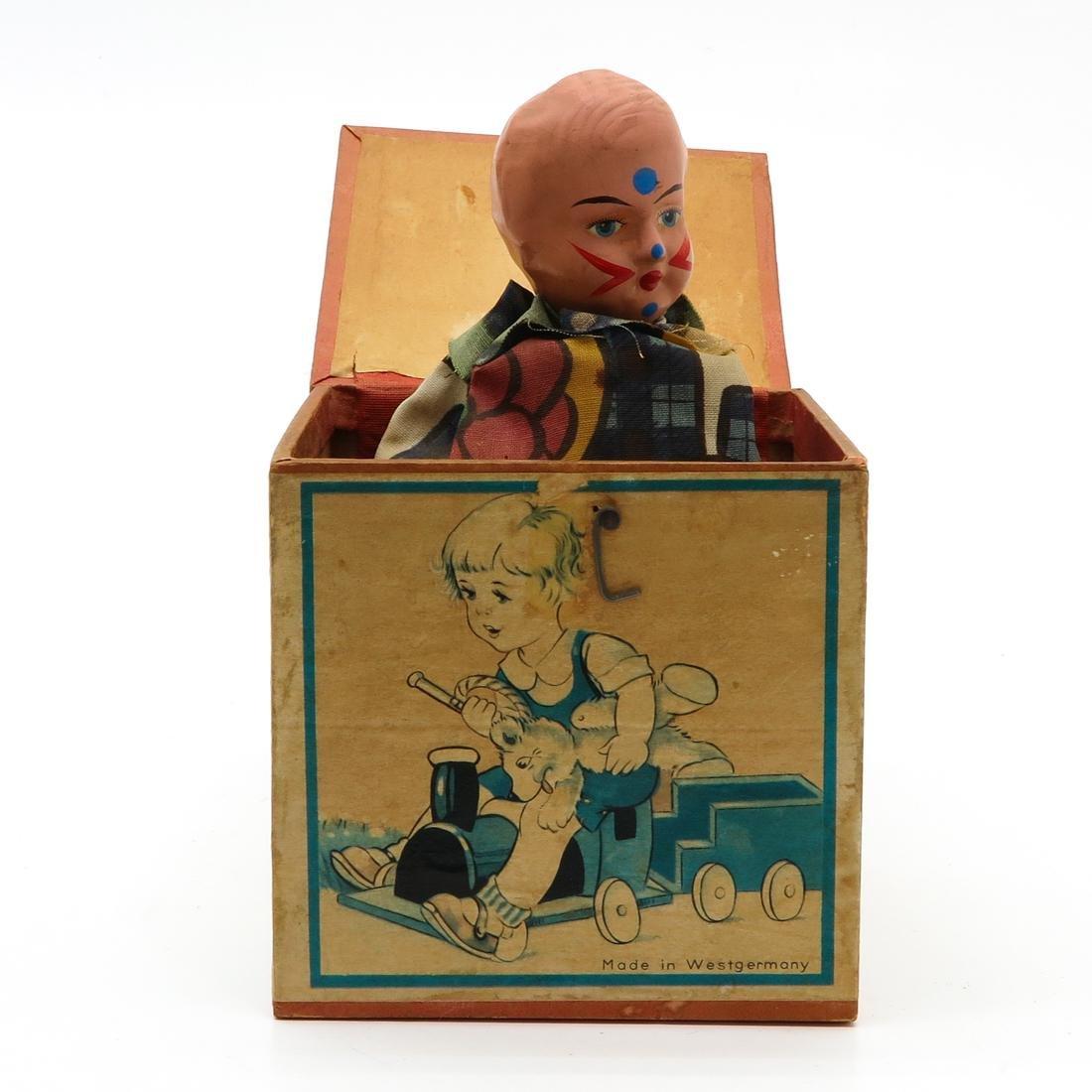 Vintage Jack in the Box