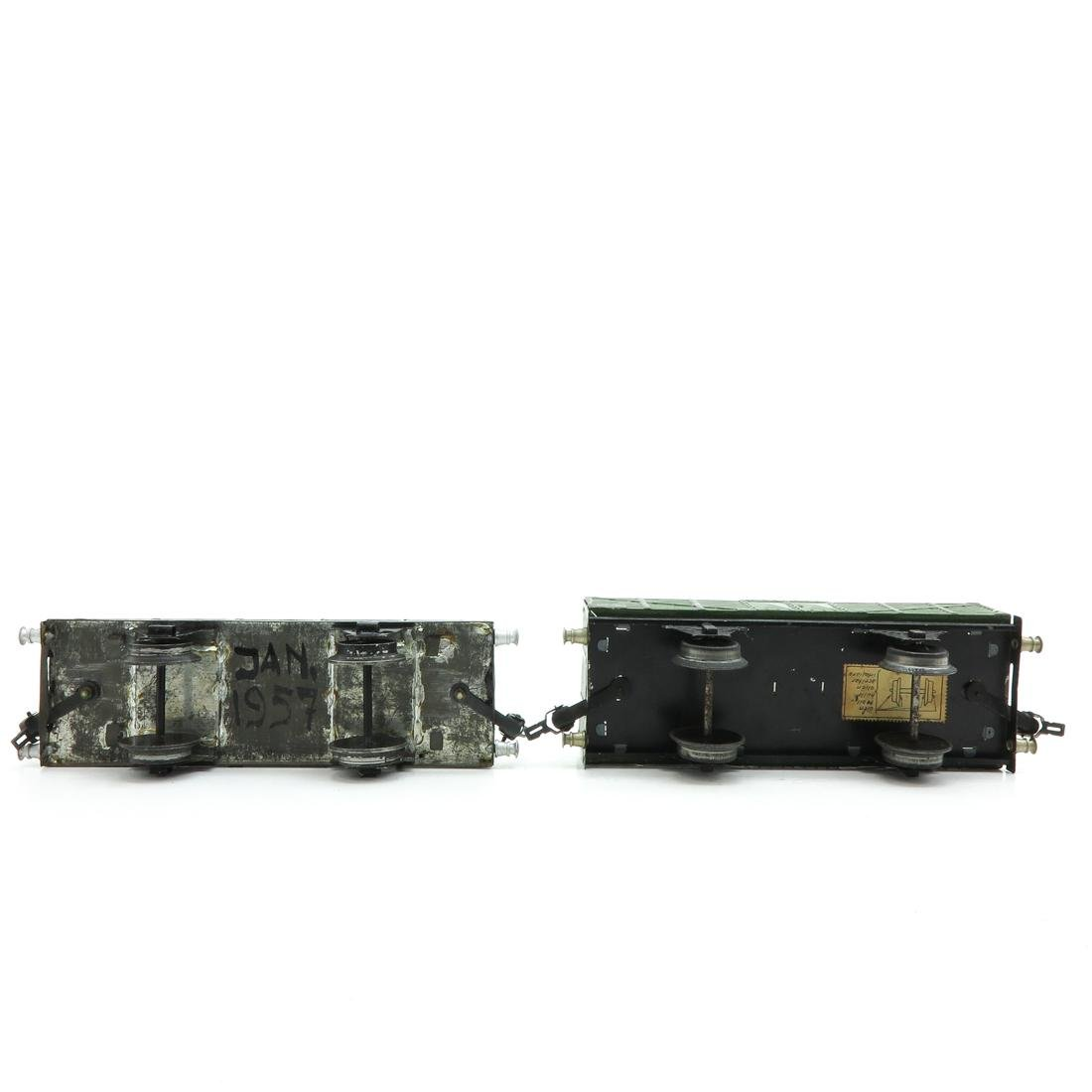 Lot of 2 Vintage Marklin Wagons - 6