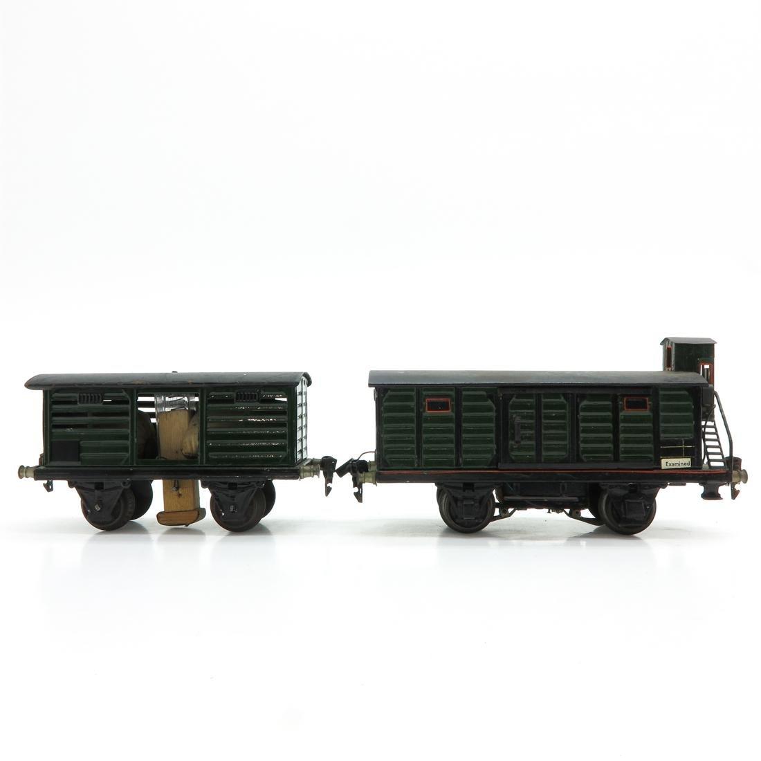 Lot of 2 Vintage Marklin Train Cars