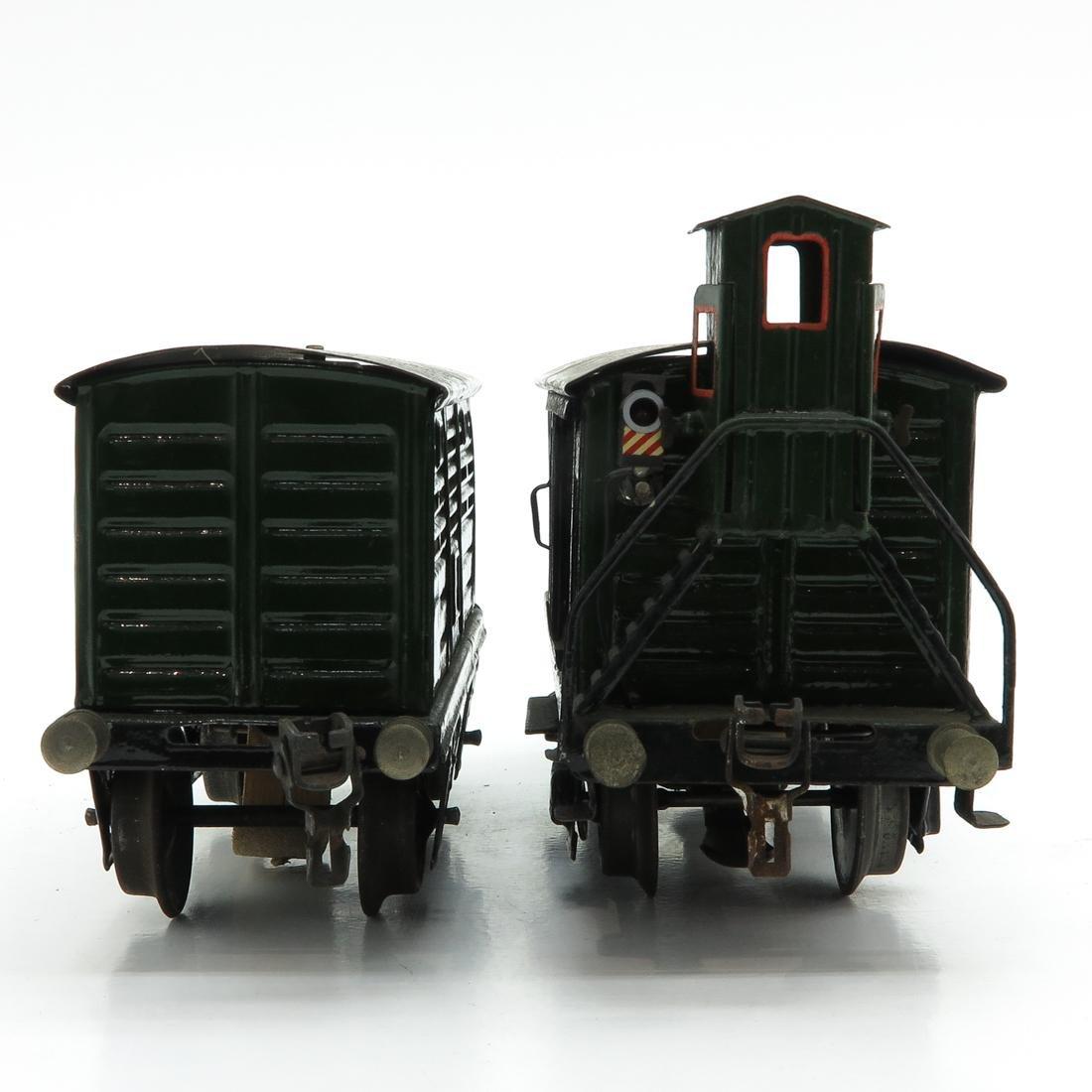 Lot of 2 Vintage Marklin Train Cars - 2