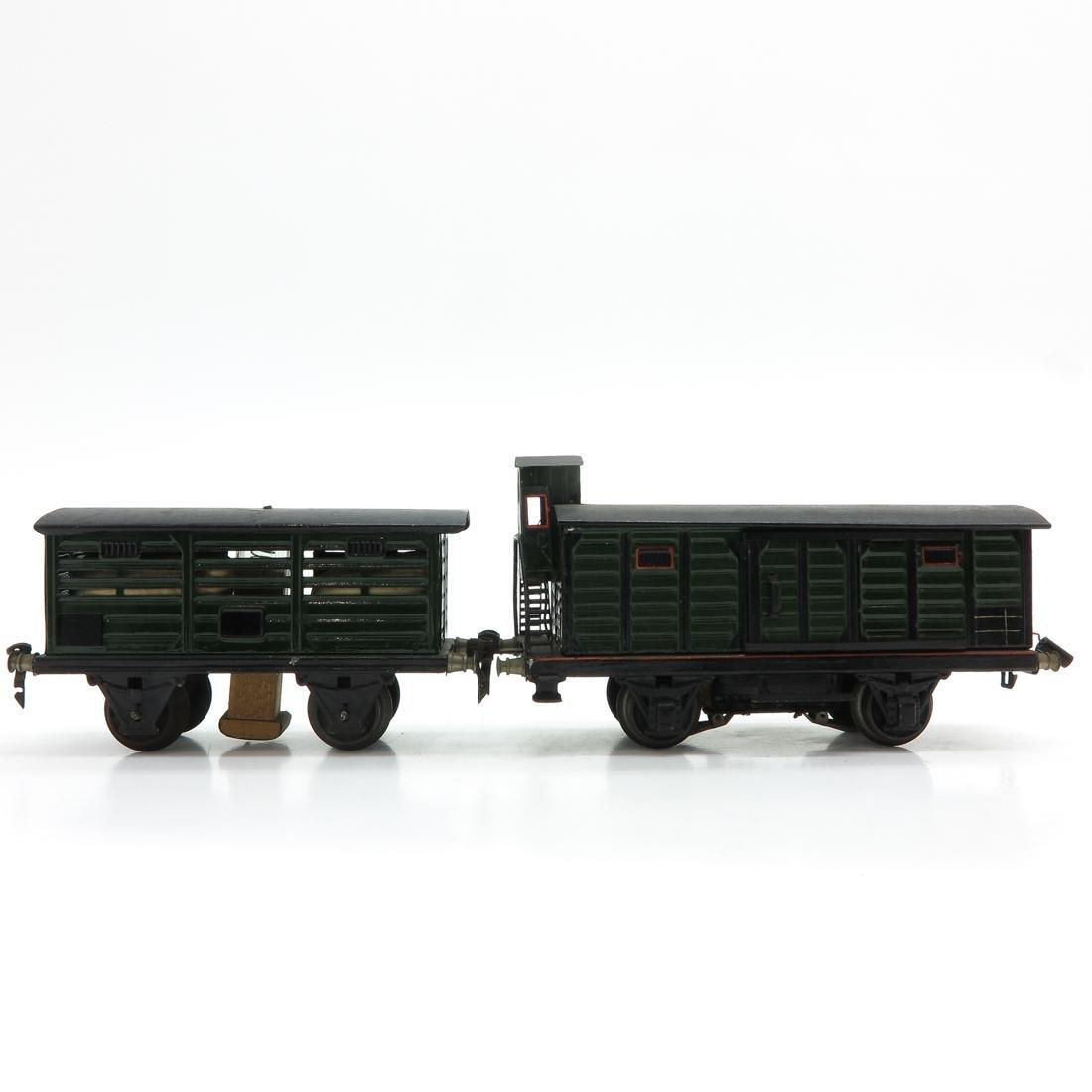 Lot of 2 Vintage Marklin Train Cars - 3