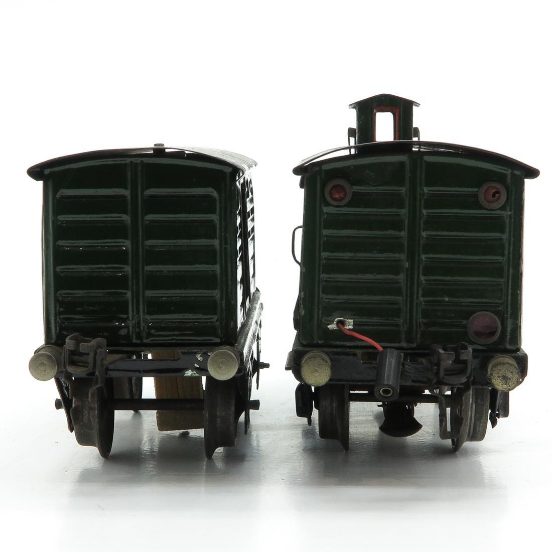 Lot of 2 Vintage Marklin Train Cars - 4