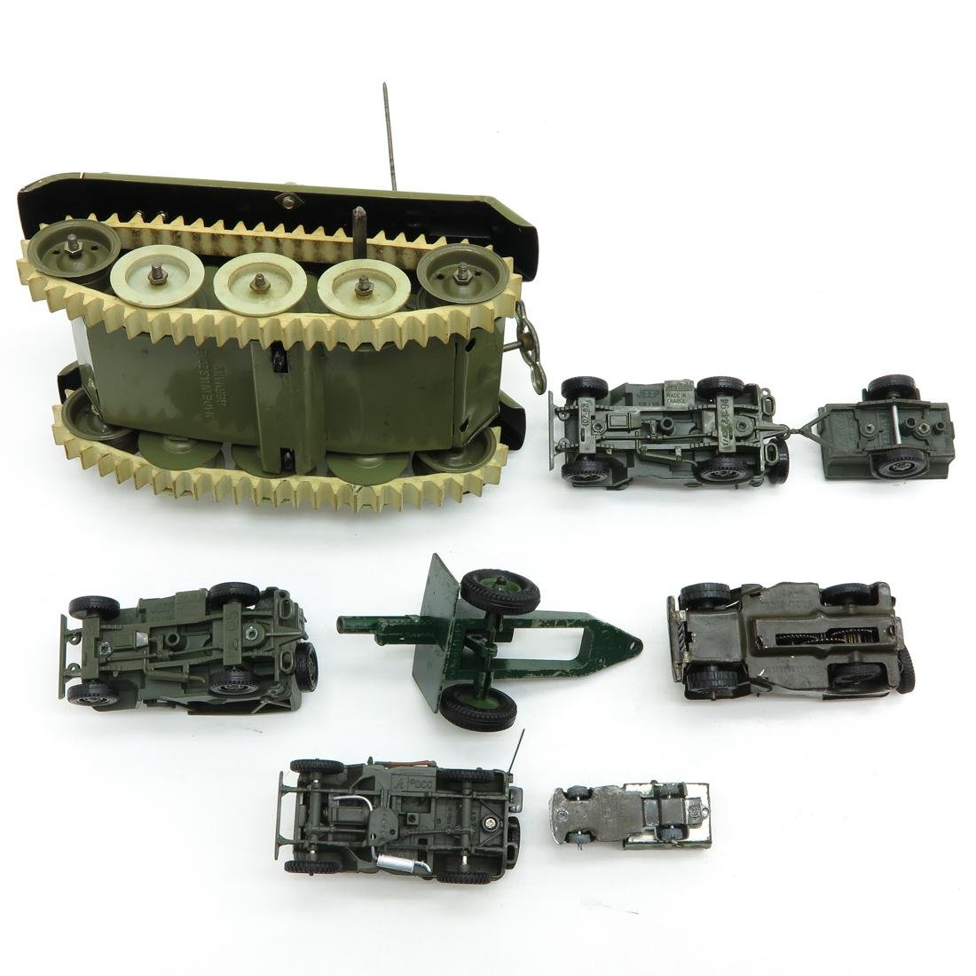 Diverse Lot of Toy Military Vehicles - 2