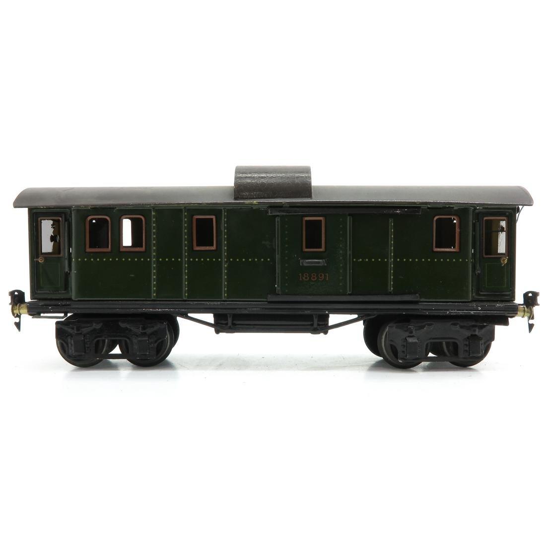 Vintage Marklin Passenger Wagon