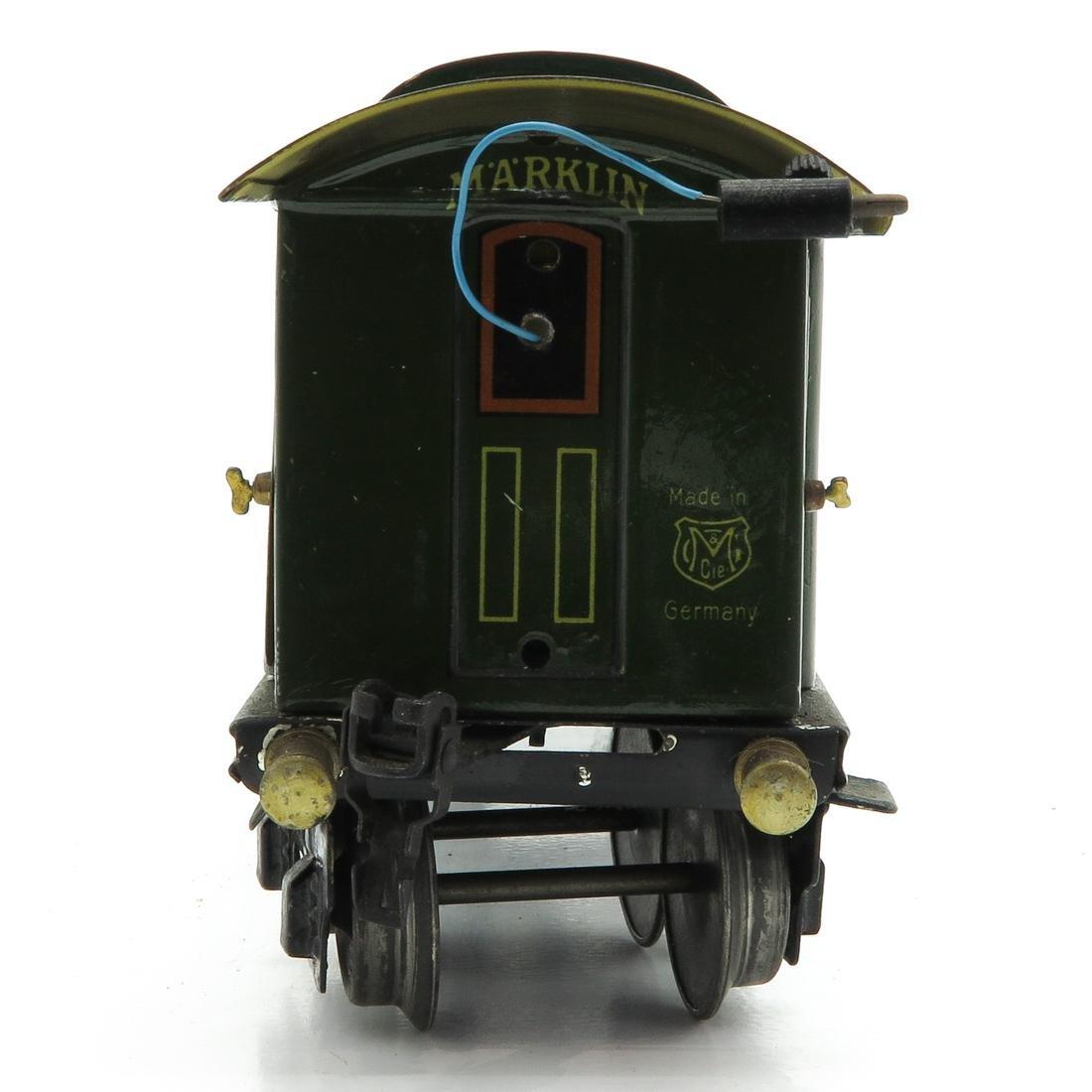 Vintage Marklin Passenger Wagon - 2