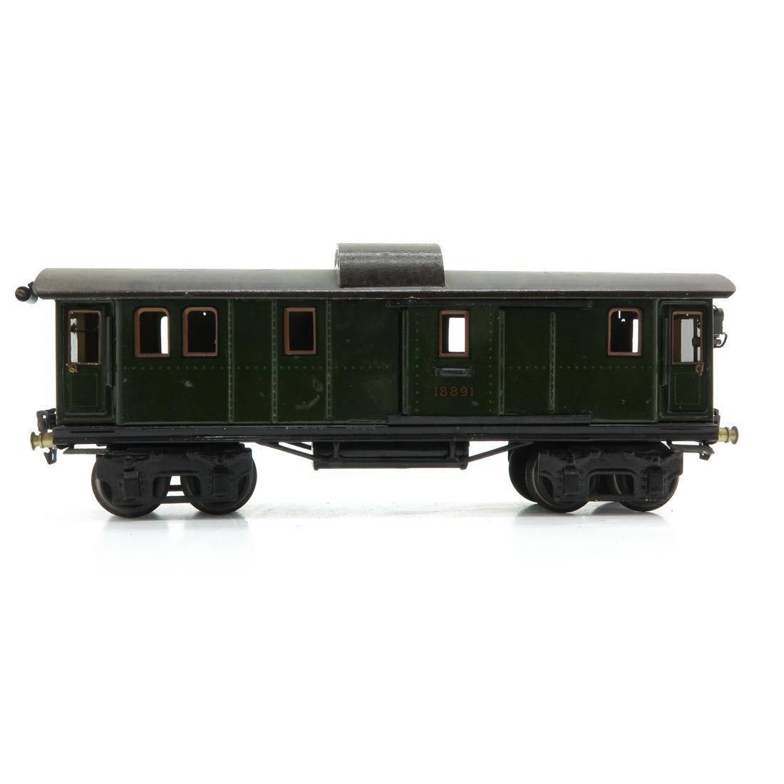 Vintage Marklin Passenger Wagon - 3