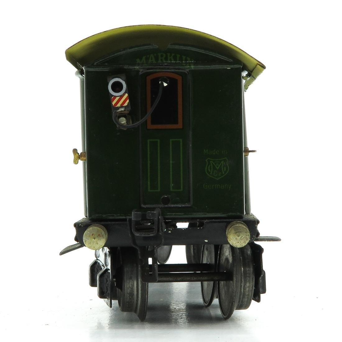 Vintage Marklin Passenger Wagon - 4
