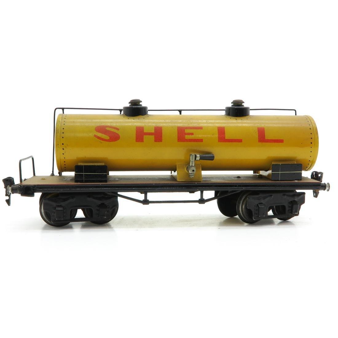 Vintage Marklin Shell Tanker