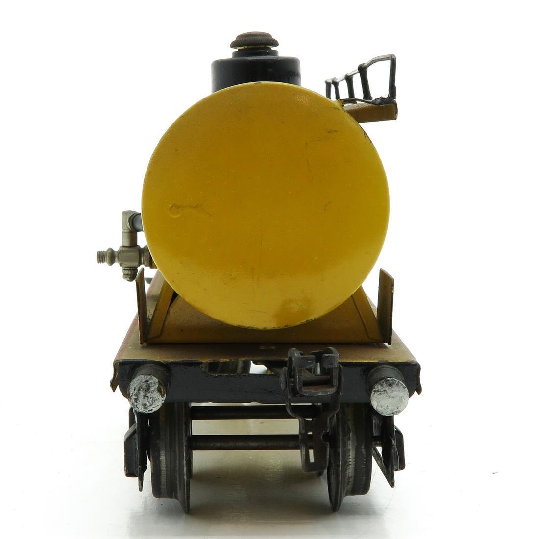 Vintage Marklin Shell Tanker - 2