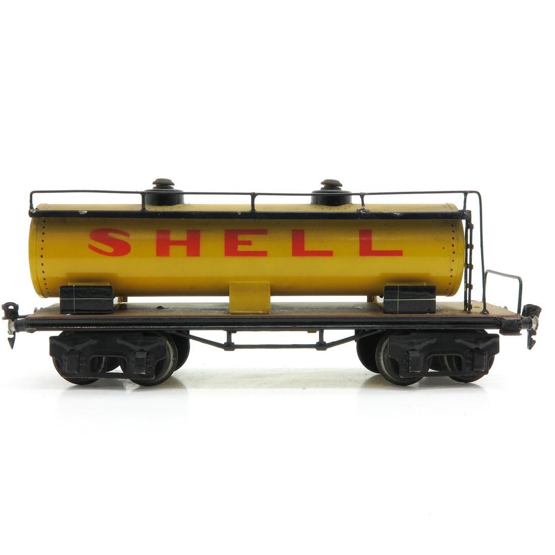Vintage Marklin Shell Tanker - 3