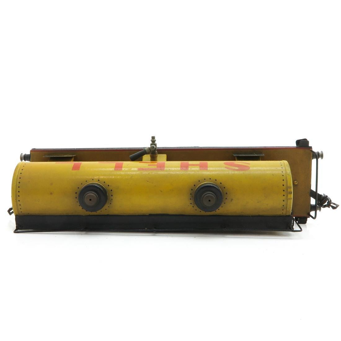 Vintage Marklin Shell Tanker - 5