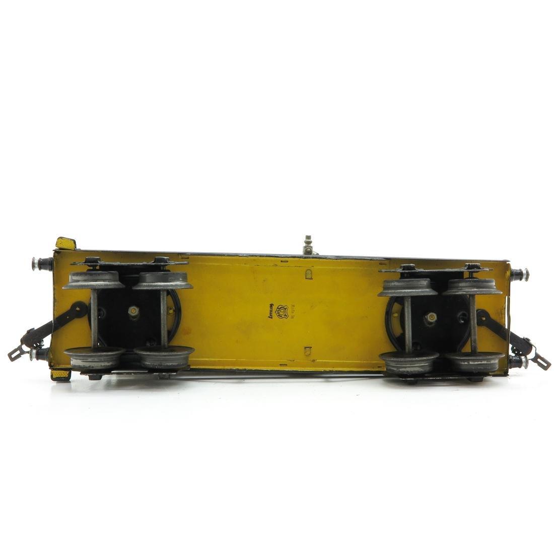 Vintage Marklin Shell Tanker - 6