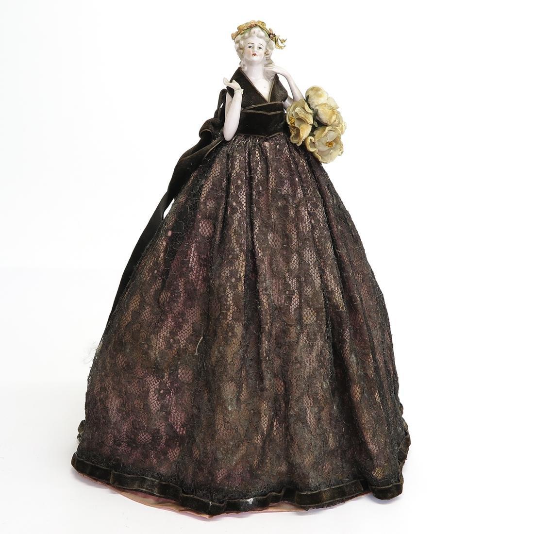Antique Half Doll