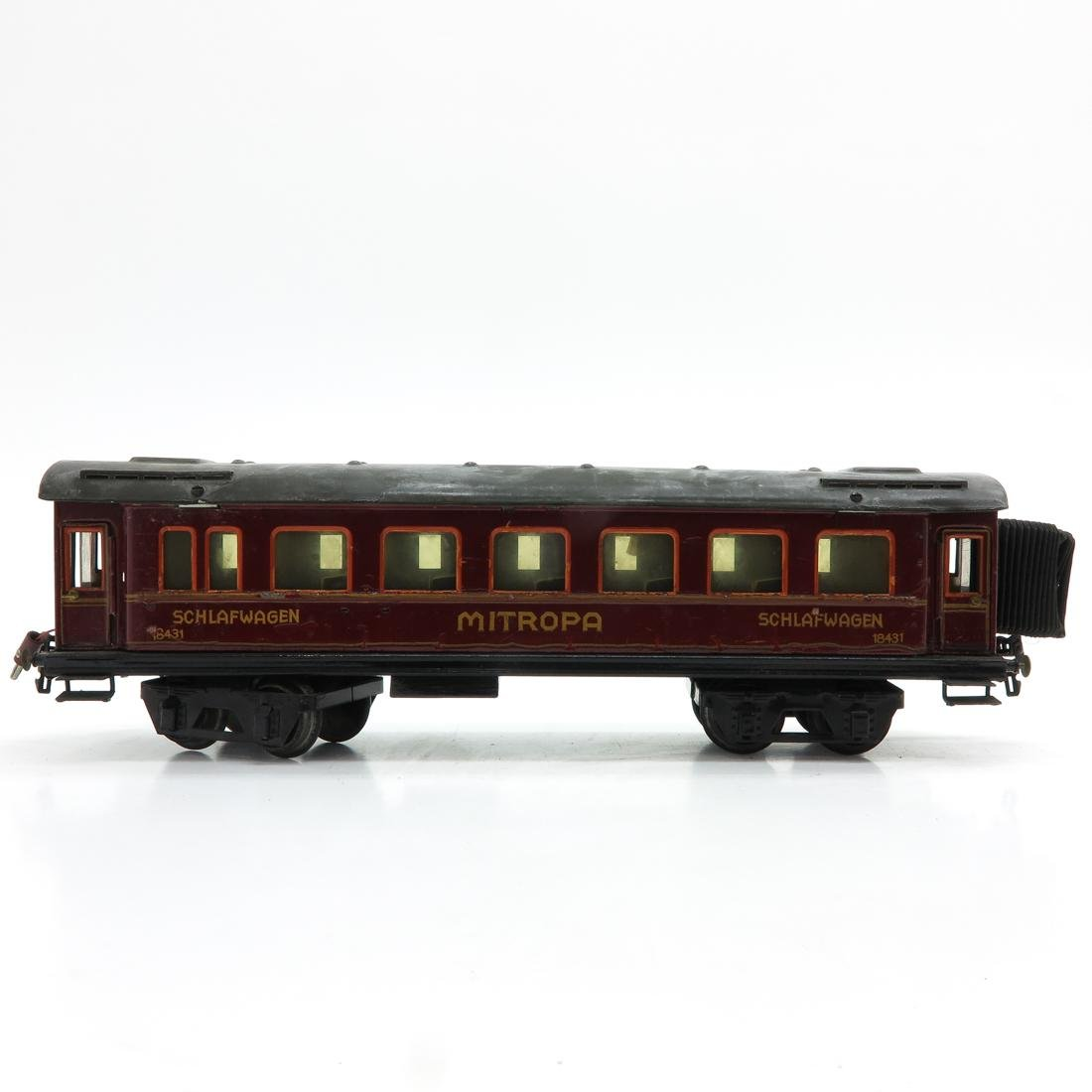 Vintage Marklin Mitropa Passenger Car - 3