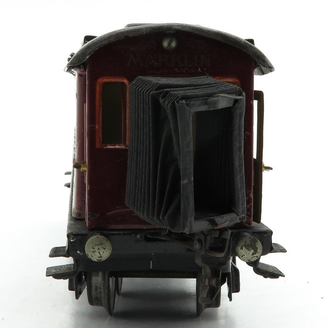 Vintage Marklin Mitropa Passenger Car - 4