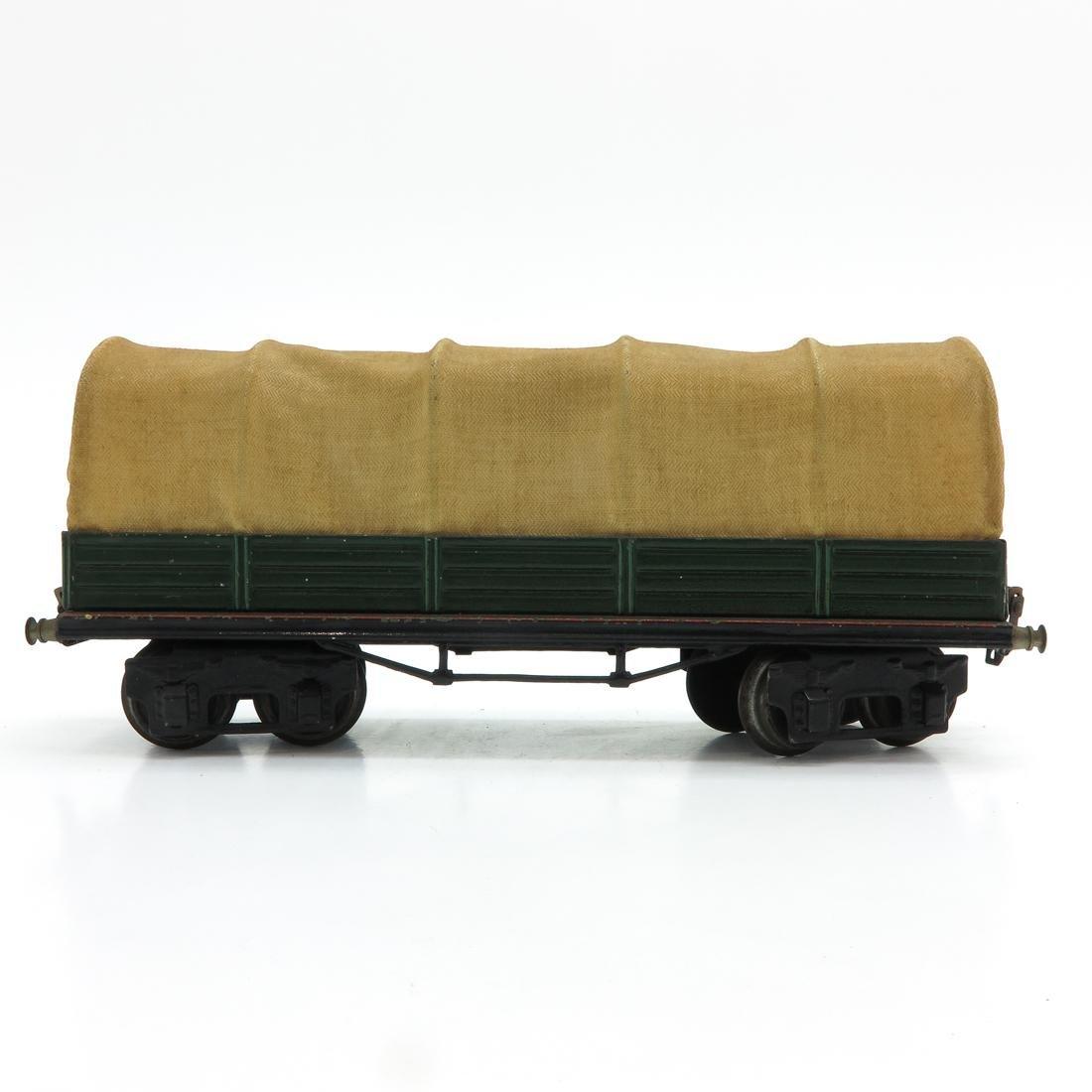 Vintage Marklin Covered Wagon
