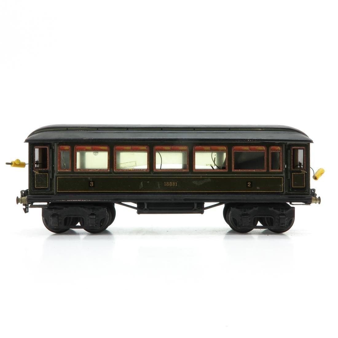 Vintage Marklin Passenger Car