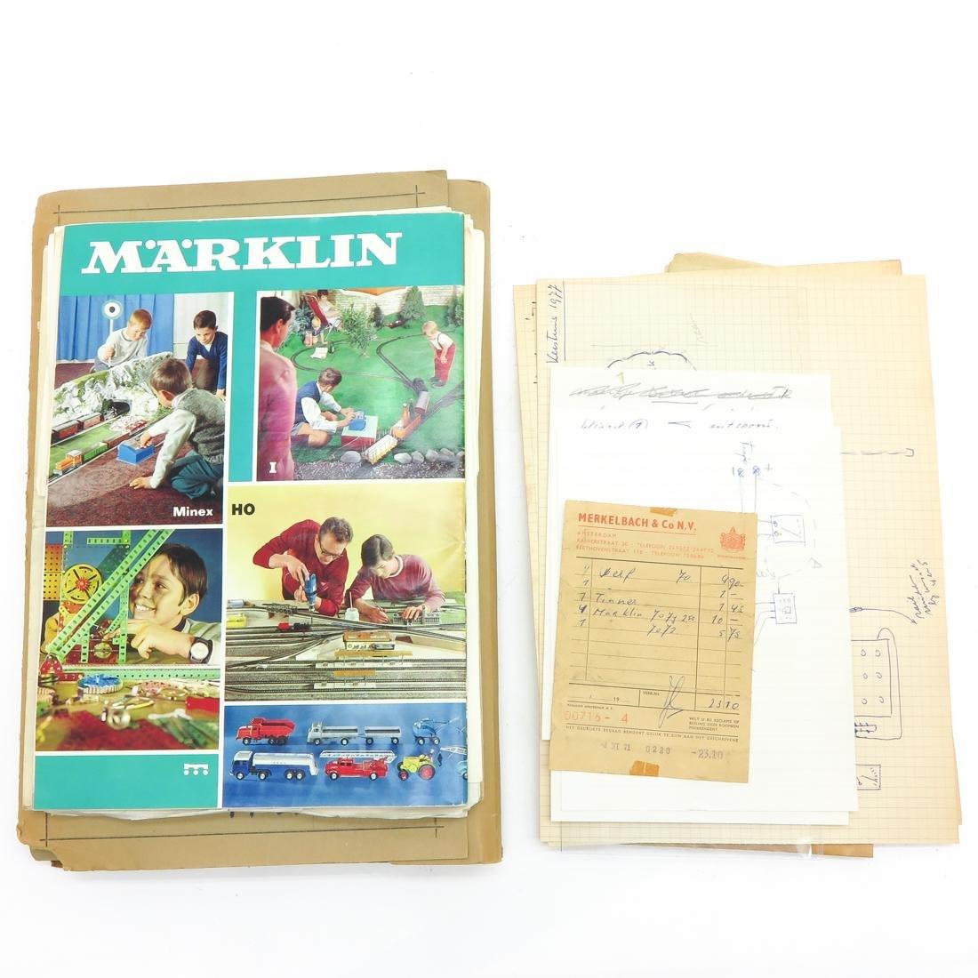 Vintage Marklin Paperwork