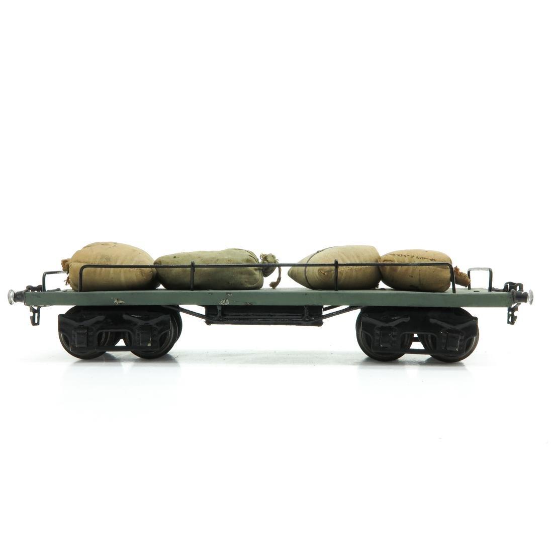 Vintage Marklin Carrier Wagon with Sacks