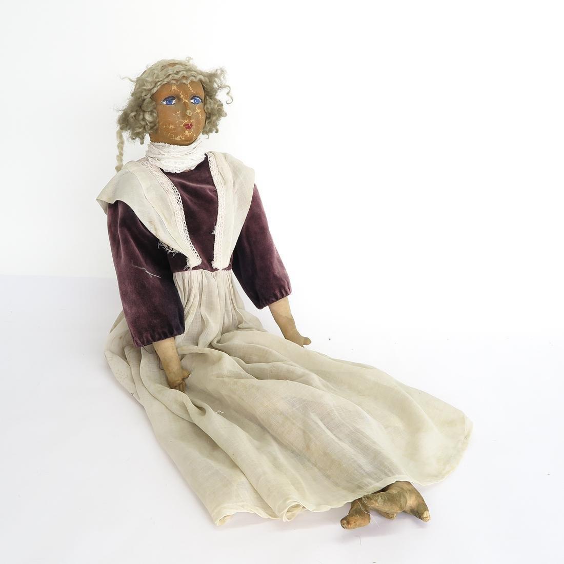 Vintage Boudoir Bed Doll