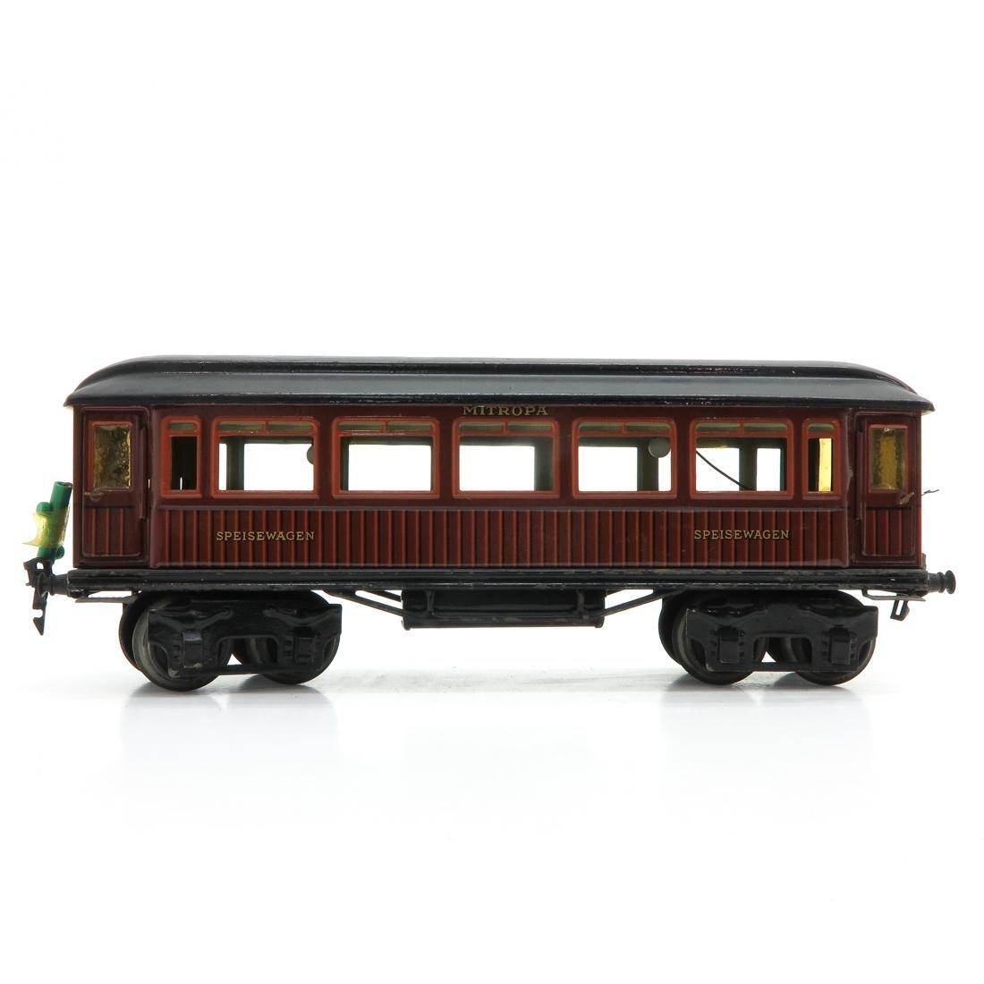 Vintage Marklin Speisewagon Passenger Car