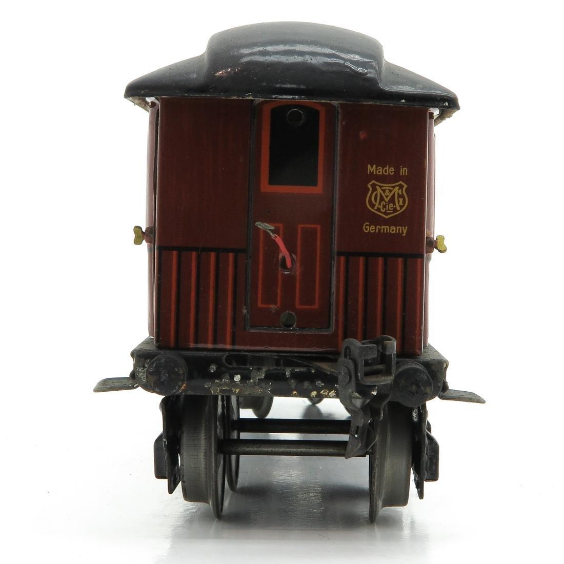 Vintage Marklin Speisewagon Passenger Car - 2