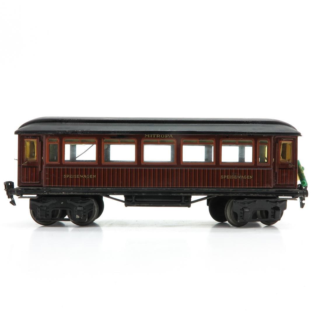 Vintage Marklin Speisewagon Passenger Car - 3